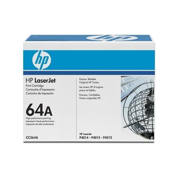 HP 64A - Toner HP CC364A noir