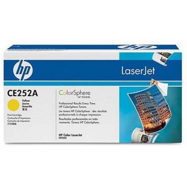 HP CE252A - Toner HP CE252A Colorsphere jaune