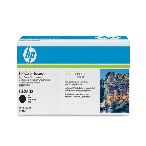 HP CE260X - 647X - Toner HP CE260X Colorsphere noir