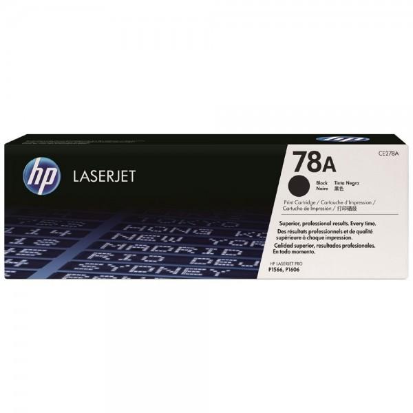HP 78A - Toner HP CE278A noir pour HP P1566 - P1606