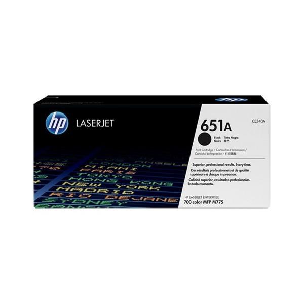 HP 651A - Toner HP CE340A pour HP laserjet 700 noir