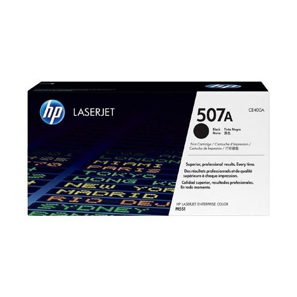 HP 507A - Toner HP CE400A pour HP LaserJet Enterprise 500 noir