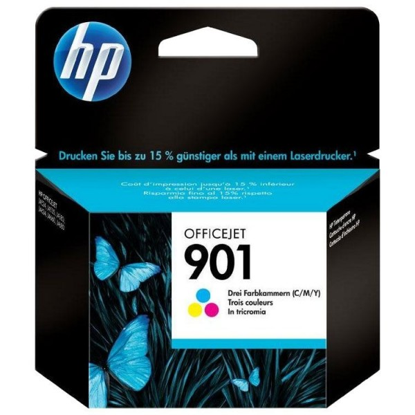 HP 901 - Cartouche d'encre HP n 901 CC656AE couleur