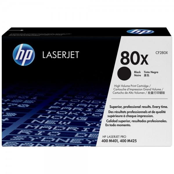 HP 80X - Toner HP CF280X pour HP LaserJet Pro noir