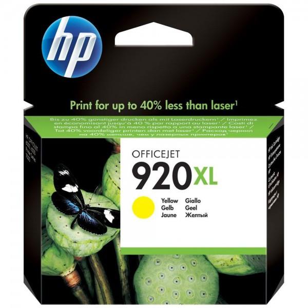 HP 920XL - Cartouche d'encre HP n 920XL CD974AE jaune