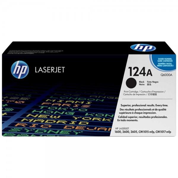 HP Q6000A - 124A - Toner HP Q6000A noir