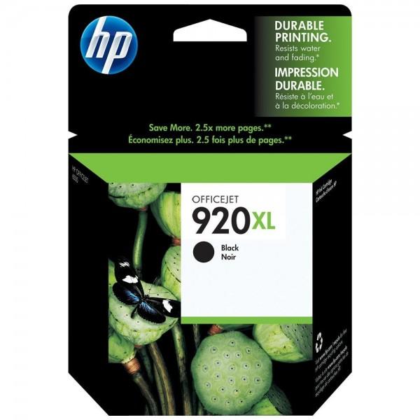 HP 920XL - Cartouche d'encre HP n 920XL CD975AE noir