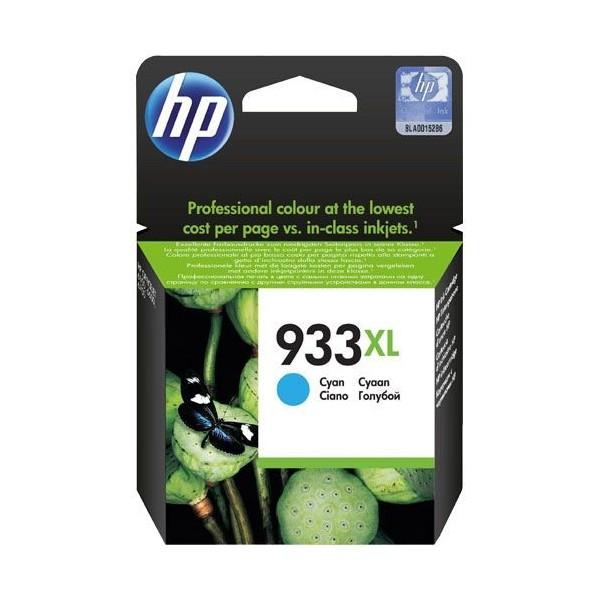 HP 933XL - Cartouche d'encre HP n 933XL CN054AE cyan