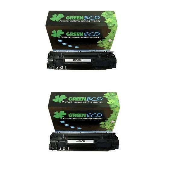 CB435AD - 35AD - Lot 2 toner generique equivalent au modele HP CB435AD noir