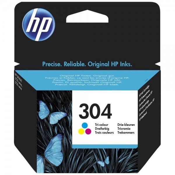 HP 304 - cartouche de marque hp 304 couleur N9K05AE