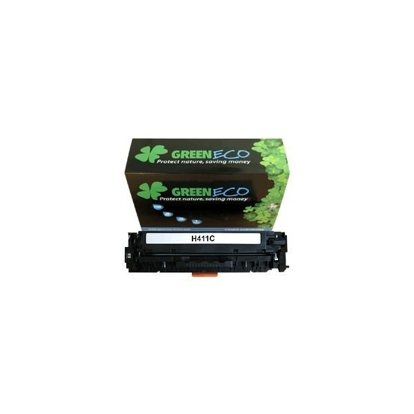 CE411A - 305A - Toner generique equivalent au modele HP CE411A cyan