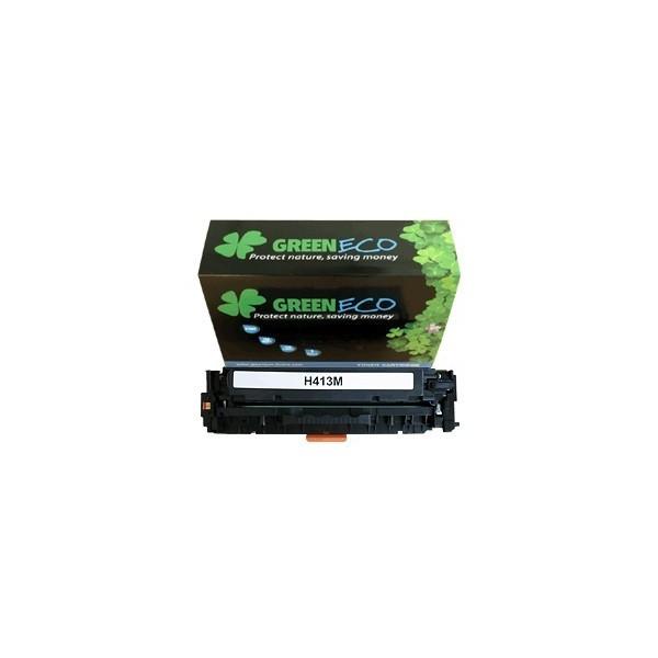 CE413A - 305A - Toner generique equivalent au modele HP CE413A magenta