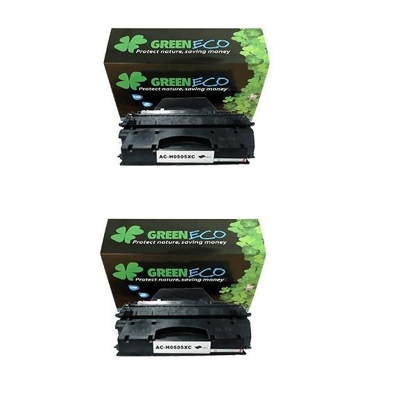 CE505XD - 05XD - Lot de 2 tonerS generique equivalent au modele HP CE505XD noir