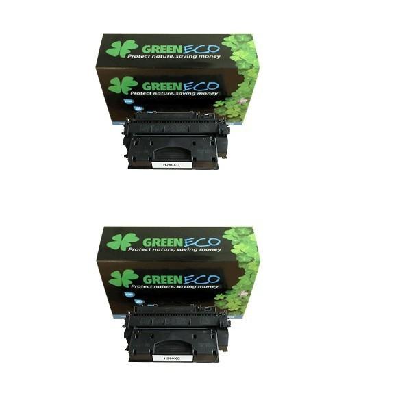 CF280XD - 80XD - Lot de 2 toner generique equivalent au modele HP CF280XD noir