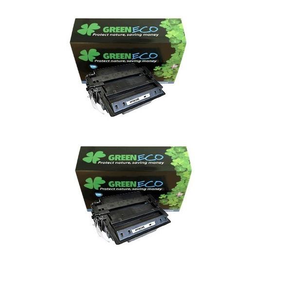 Q7553XD - 53XD - Lot de 2 toner generique equivalent au modele HP Q7553XD noir
