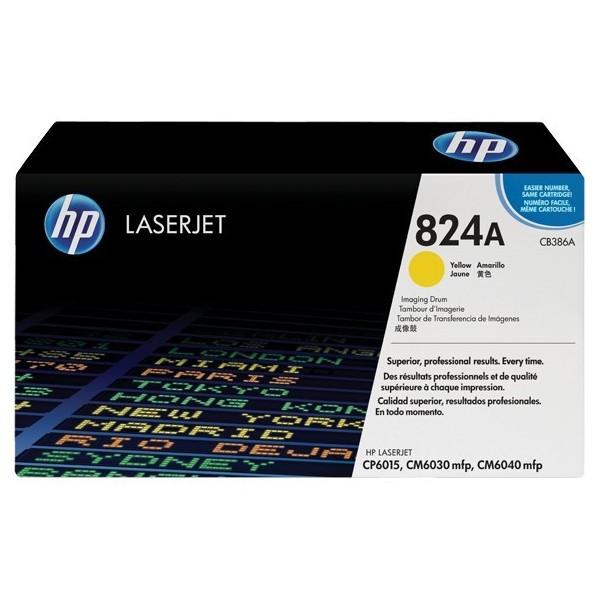 HP CB386A - Tambour d'impression HP CB386A Jaune