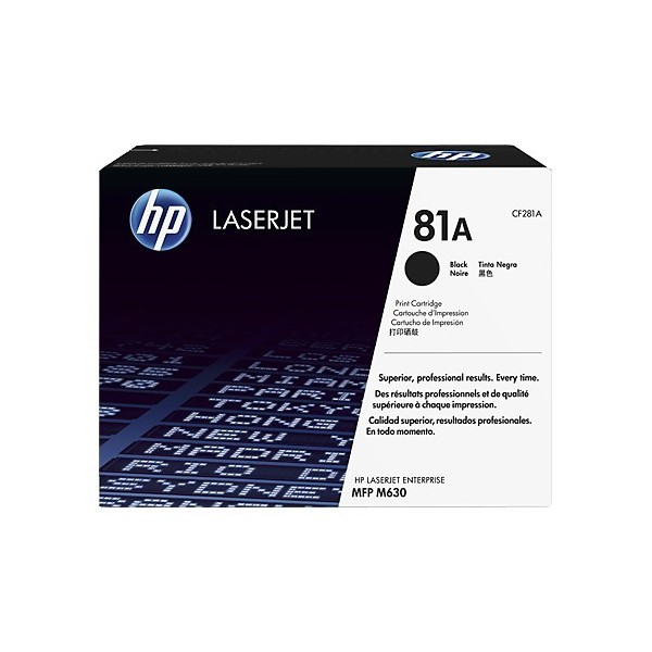 HP CF281A - Toner d'impression HP 81A