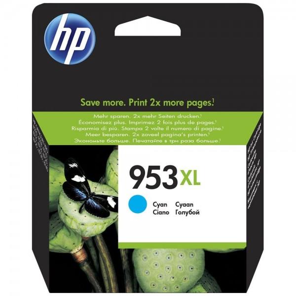 HP 953XL - Cartouche d'encre HP 953XL cyan F6U16AE