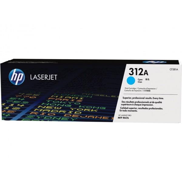 HP CF381A - Toner d'impression HP 312A Cyan