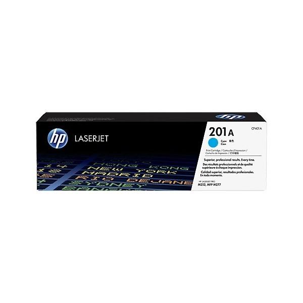 HP CF401A - Toner d'impression HP 201A Cyan