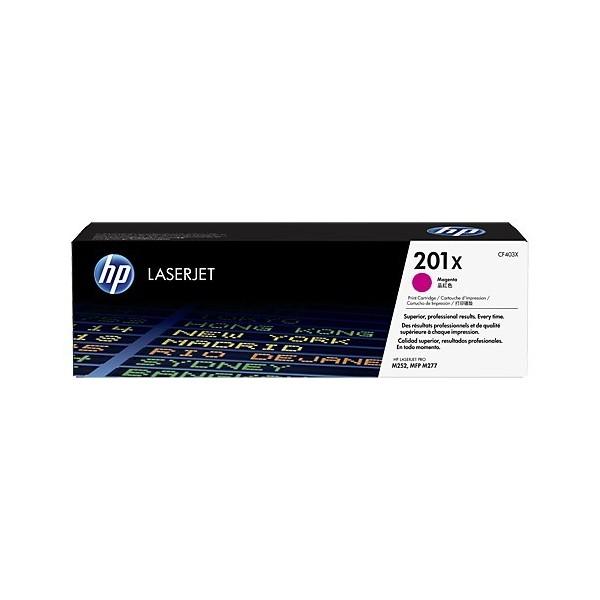 HP CF403X - Toner d'impression HP 201X Magenta