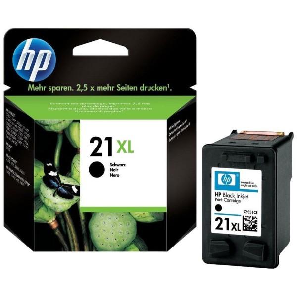 HP 21 XL - Cartouche d'encre HP n 21XL C9351CE noir