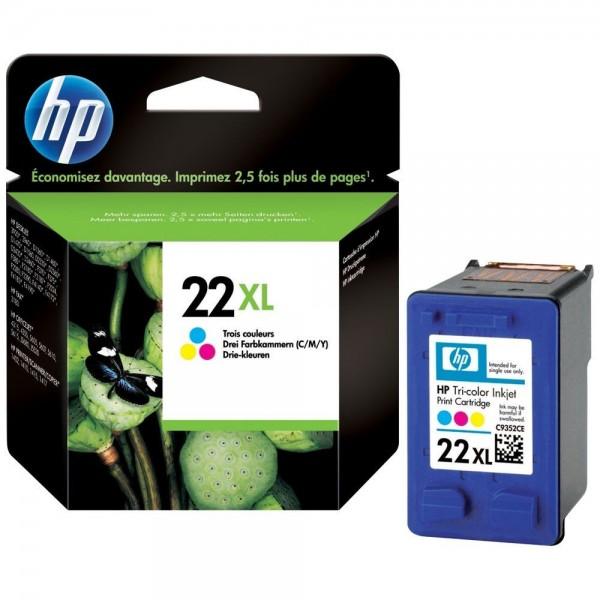 HP 22 XL - Cartouche d'encre HP n 22XL C9352CE couleur