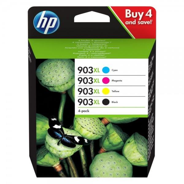 HP 3HZ51AE - Pack de 4 cartouches HP 903XL noir et couleurs