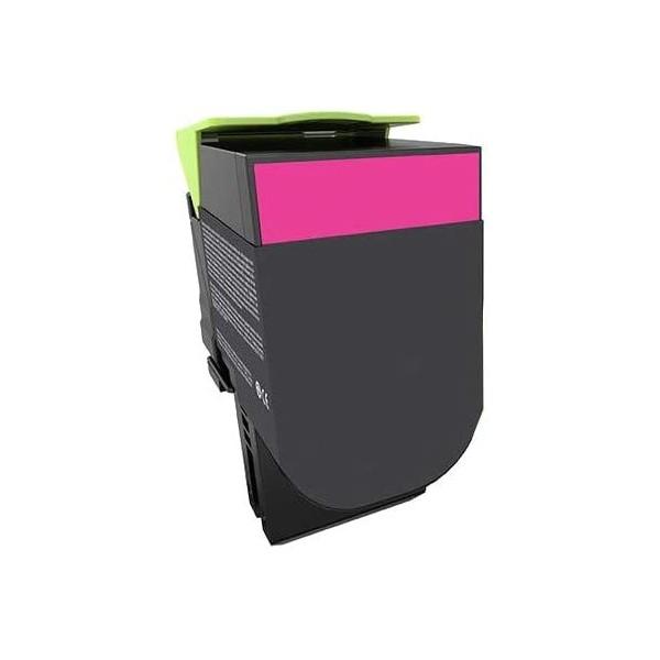 Cartouche de toner compatible magenta pour LEXMARK CX 410/510
