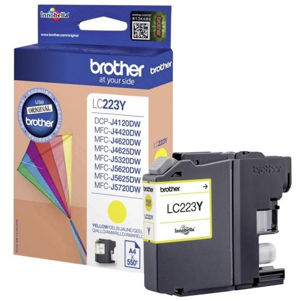 Cartouche d'encre brother lc223y