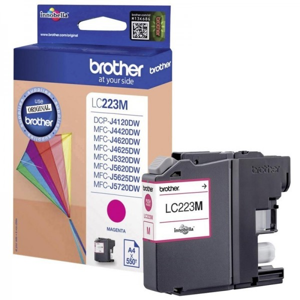 Cartouche d'encre brother lc223m