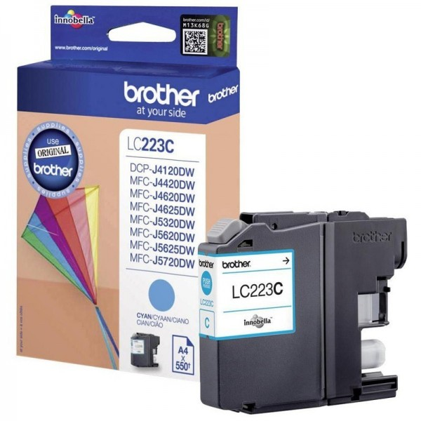 Cartouche d'encre brother lc223c