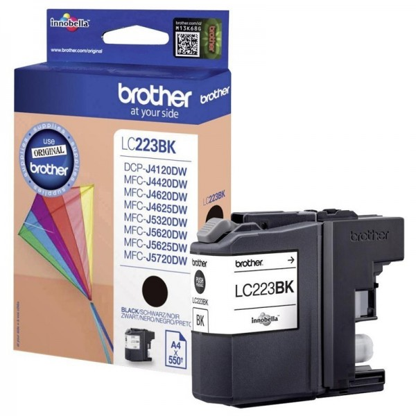 Cartouche d'encre brother lc223bk