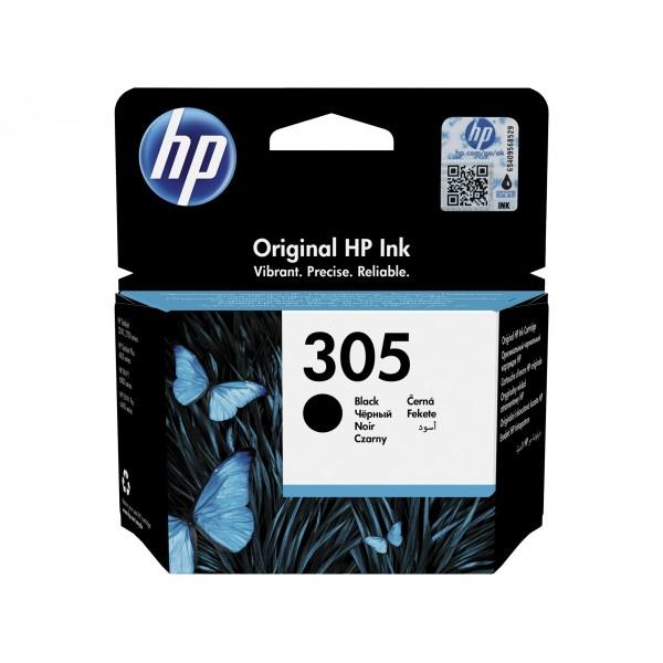 HP 305 noire - Cartouche d'encre noire HP 305