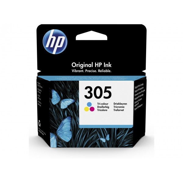 HP 305 Couleurs - Cartouche d'encre couleurs HP 305