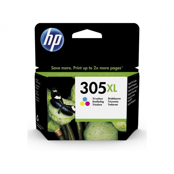 HP 305 XL Couleurs - Cartouche d'encre couleurs HP 305 XL