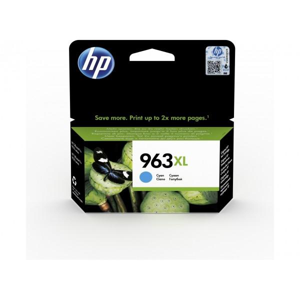HP 963 XL Cyan - Cartouche d'encre Cyan HP 963 XL