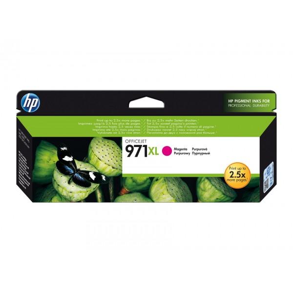HP 971 XL Magenta - Cartouche d'encre Magenta HP 971 XL
